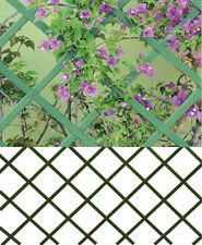 TRALICCIO ESTENSIBILE IN PVC GRIGLIATO SUPPORTO RAMPICANTI DIVISORIO MT. 3 x 1