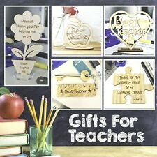 Best Teacher Gifts Wooden Plaque Thank You Gift Leaving School Nursery