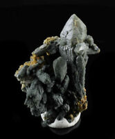 7cm PRAZYM QUARTZ with ACTINOLITE and ANDRADITE from Russia 8152