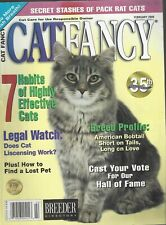 Cat Fancy (Feb 2000) Secret Stashes of Pack Rat Cats ~ American Bobtail ~ G598A