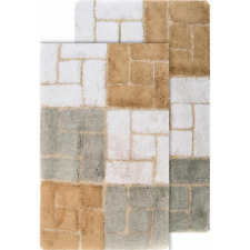 Bath Rug Set in Spa Berkeley 21 in. x 34 in. and 24 in. x 40 in. 2-Piece