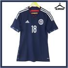Scotland Player Issue Football Shirt Adidas Size 6 Medium Home Jersey 2014 C24
