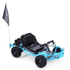 51cc Off-Road Mini Go Karts Foldable Seat Gas 2-Stroke 4-Wheel w/ Flag EPA