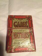 McLoughlin Bros Game of Nations, circa 1890 complete