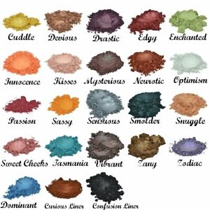 Bulk Eye Shadow (1 Ounce Each) Refill Bag Mineral Makeup Bare Skin Sheer Powder