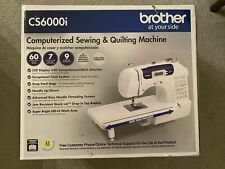 Brother CS6000i Sewing and Quilting Machine **IN HAND & FREE SHIPPING**