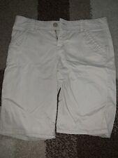 Justice Uniform Kacki Bermuda Flat Front Shorts Size 16 Reg