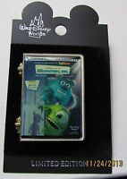 Disney WDW Monsters Inc DVD Release Hinged Retired Pin