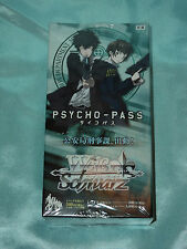 WeiB (Weiss) Schwarz Psycho-Pass Extra Booster (EB) Sealed box of 6 packs