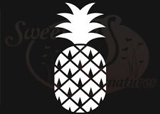Pineapple - Car Truck Vehicle Window Decals Stickers