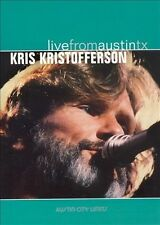Live from Austin, TX by Kris Kristofferson (DVD, Jun-2006, New West (Record Label))