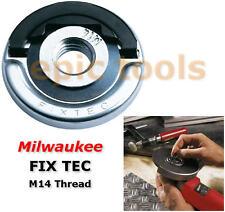 MILWAUKEE FIXTEC Angle Grinder Quick Release Blade/Disc Flange Locking Nut/Head