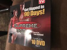 Get Ripped In 90 Days Supreme 90 Day Workout System 10 Dvd Set As Seen On Tv