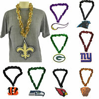 NFL 3D Foam Man Cave Fan Chain Neckless FanFave Made in USA New All Teams