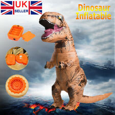 Adult Unisex Dinosaur Inflatable Halloween Cosplay Costume Fancy Dress Suit 2.2M