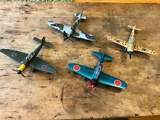 Vintage Dinky Military Airplane - Junkers / Hurricane / Messerschmitt / Zero-Sen