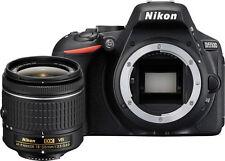 Mother's Day Sale Nikon D5500 DSLR Camera Black + Nikon 18-55mm VR AF-P Lens
