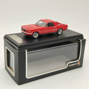 Premium X FORD MUSTANG MUSTERO 1966 RED PR0467R 1:43 Limited Edition Collection