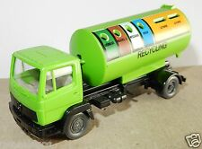 WIKING HO 1/87 CAMION MB MERCEDES LKW CITERNE RECYCLING CONTAINER no BOX