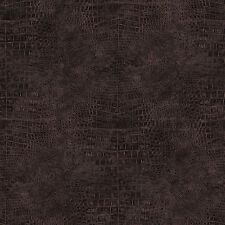 G67500 - Natural FX Black, Copper, Metallic Animal Skin effect Galerie Wallpaper