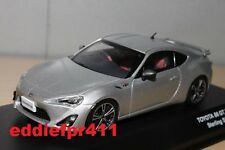 1/43 2012 TOYOTA 86 GT LIMITED COUPE STERLING SILVER METALLIC KYOSHO JCOLLECTION