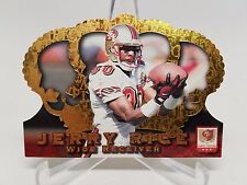 1996 Pacific Football CR-40 Jerry Rice Crown Royale