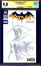 Batman #1 BLANK CGC SS 9.8 signed ORIGINAL BATMAN SKETCH by John Bolton NM/MT