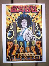 ERYKAH BADU Moscow Russia 2008 emek Concert mini Poster