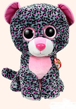 Tasha Ty Beanie Boos - MWMT - 17 Inch JUMBO - Leopard