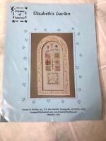 """Elizabeth's Garden"" Dreams of Stitches Jean Bailey Cross Stitch Pattern"