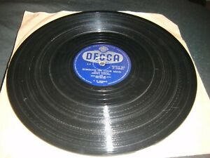 Someone on your Mind /  I Look at You Jimmy Young Decca 78 Rpm F10640