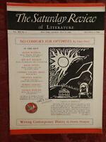 Saturday Review May 20 1939 ELMER DAVIS DOROTHY THOMPSON +++
