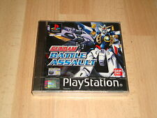 GUNDAM BATTLE ASSAULT BY BANDAI FOR PS1 NEW FACTORY SEALED UK VERSION