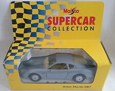 Maisto supercar collection aston martin DB7 voiture silver diecast 1/40 boxed