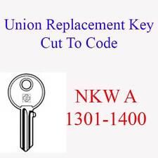 Sostituzione dell' Unione archivio Mobile taglio chiave per il codice NKW a 1301-1400