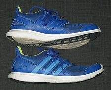ADIDAS BLUE ATHLETIC LACE UP SHOES MENS SIZE 6 WOMEN'S 8