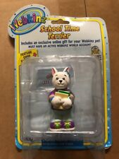 "Webkinz 3"" Figurine, School Time Terrier With Secret Online Code By Ganz"