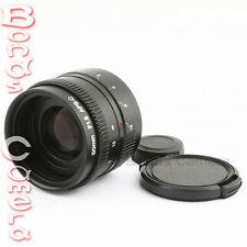 New 50mm f/1.8 C mount CCTV Lens for APS-C sensor camera M4/3 NEX FX N1 P/Q EOSM