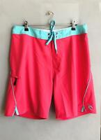 "Rip Curl MIRAGE FLEX AGROLITE 19"" BOARDSHORT Boardies Mens Size 32 - Hot Pink"