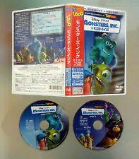 dvd MONSTRUOS INC. Disney Pixar Edición Especial 2 discos JAPAN