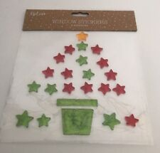 Christmas Window Gel Stickers - Christmas Tree
