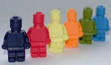 Lego cake cupcake topper set 18 Brick Men Lego cake decorations