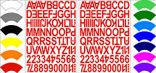 Alphabet Numbers Letters Stickers Label Craft Self Adhesive Peel Off 2.5cm MIXED