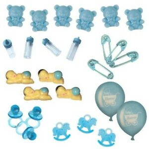 Baby Shower Table Decorations / Favours - Blue / Boy - Choose Item
