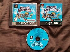 MICRO MANIACS Sony Playstation 1 Game PS1 THIN CASE