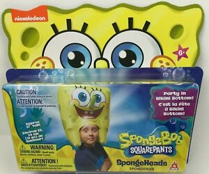 "SpongeBob SquarePants Spongeheads SpongeBob 21"" Tall Inflatable BRAND NEW"