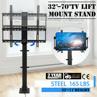 "Motorized TV Lift Mount Bracket for 32""-70"" LCD Flat TV W/ Remote Controller"