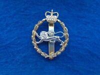 BRITISH ARMY BORDER REGIMENT ANODISED STAYBRITE CAP BADGE, J.R. GAUNT