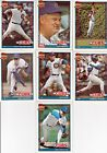 LOT OF 10 TOPPS CARDS Chicago CUBS 1991 MLB 40 YEARS OF BASEBALL Maddux FreeShip