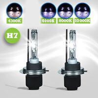 1 Paar H7 HID Xenon-Ersatzlampe 2 Lampen Scheinwerfer 35W/55W AC Metallfuß PRE